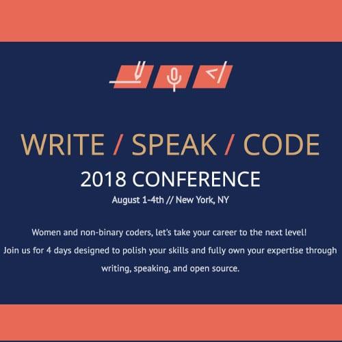 Write/Speak/Code